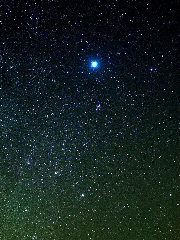 冬の星座へ